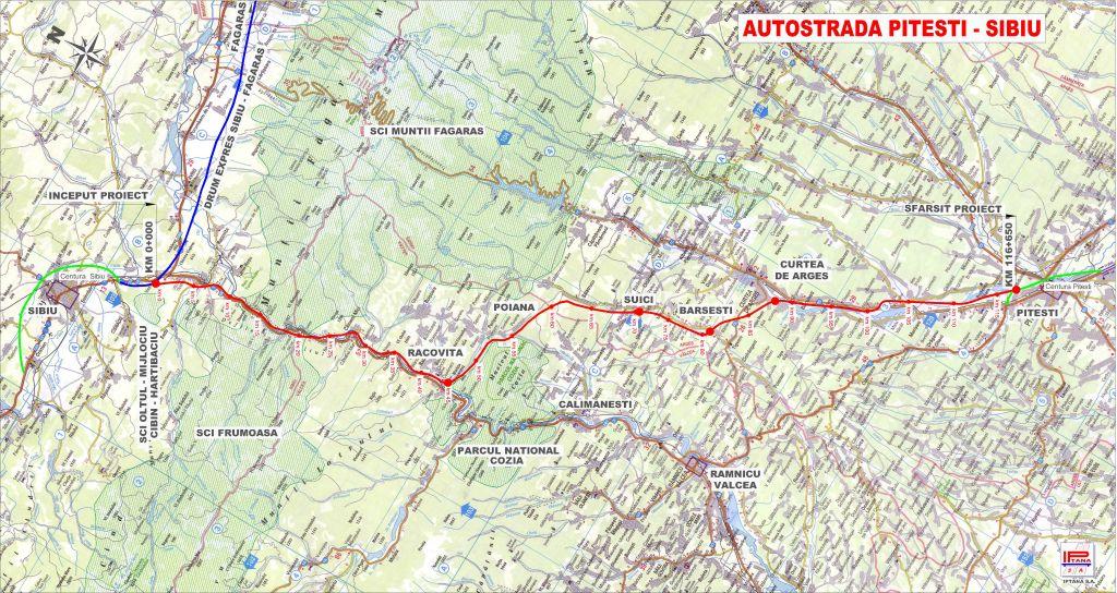 Costul real al autostrăzii A1 Sibiu -Pitești