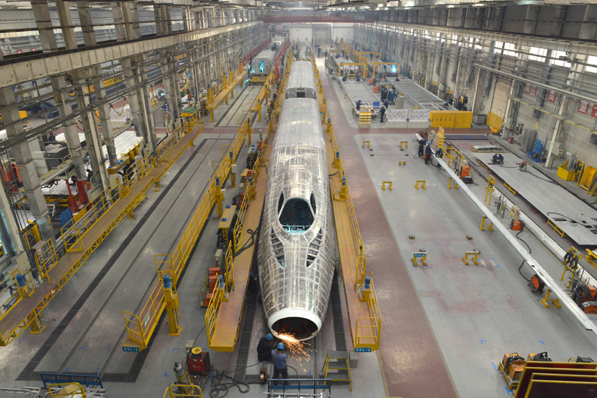 (经济)(1)探访CRH380A高速动车组制造车间