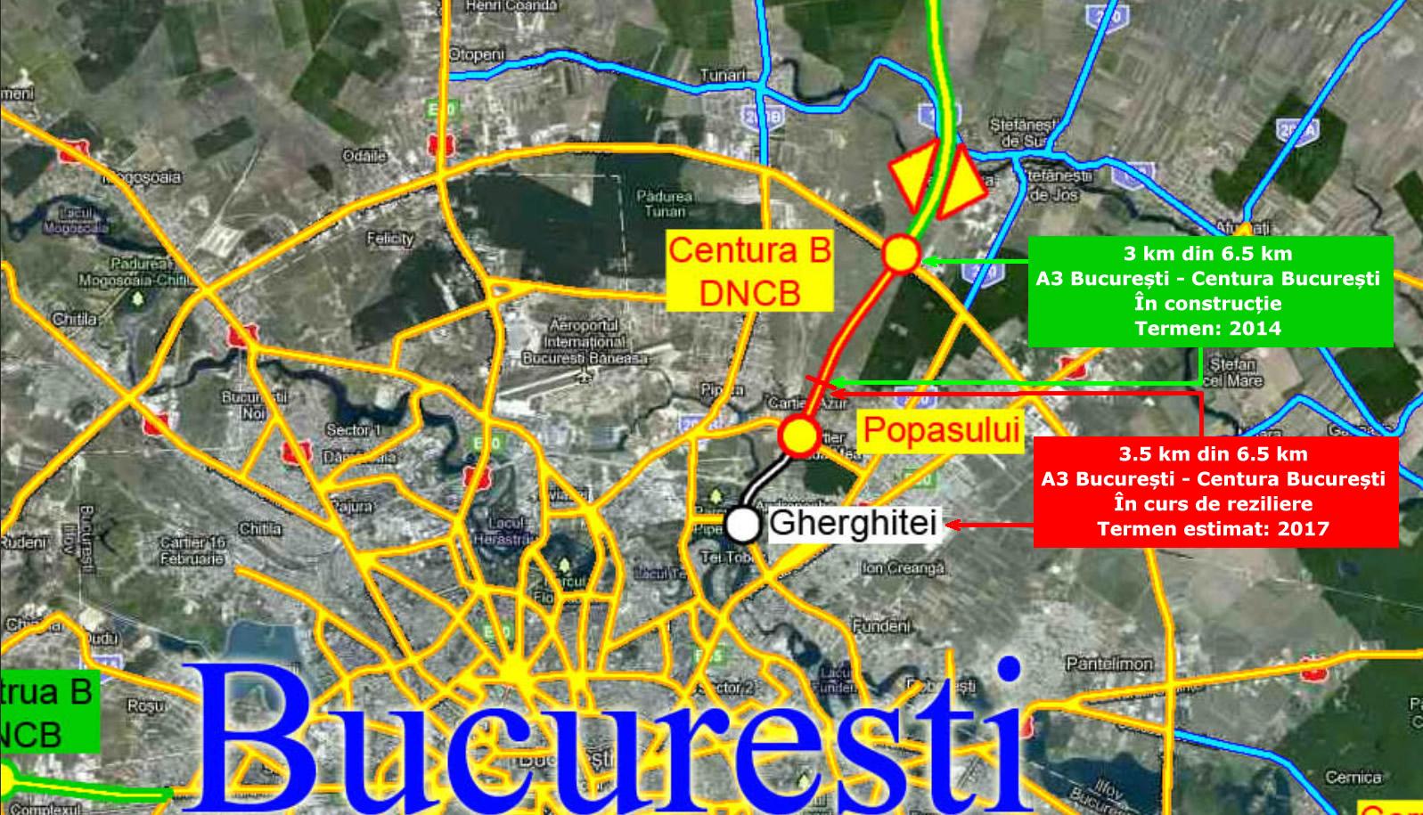A3 Bucuresti - Centura Bucuresti
