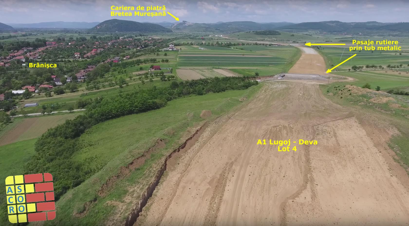 Plan general Brănișca