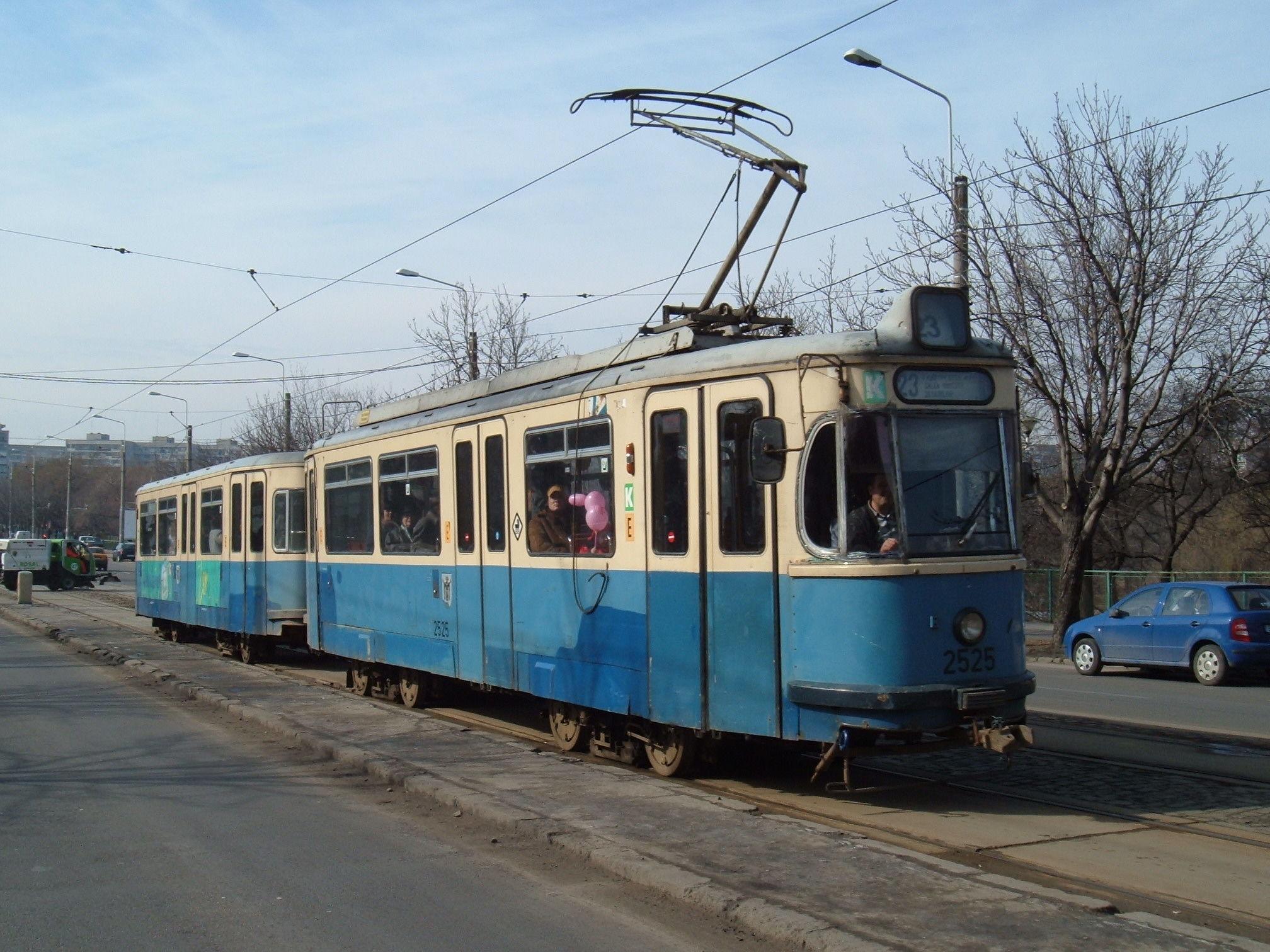 Tramvai Rathgeber M5.65 în București