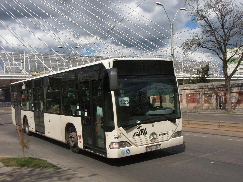 Autobuz Citaro Euro 3 în București