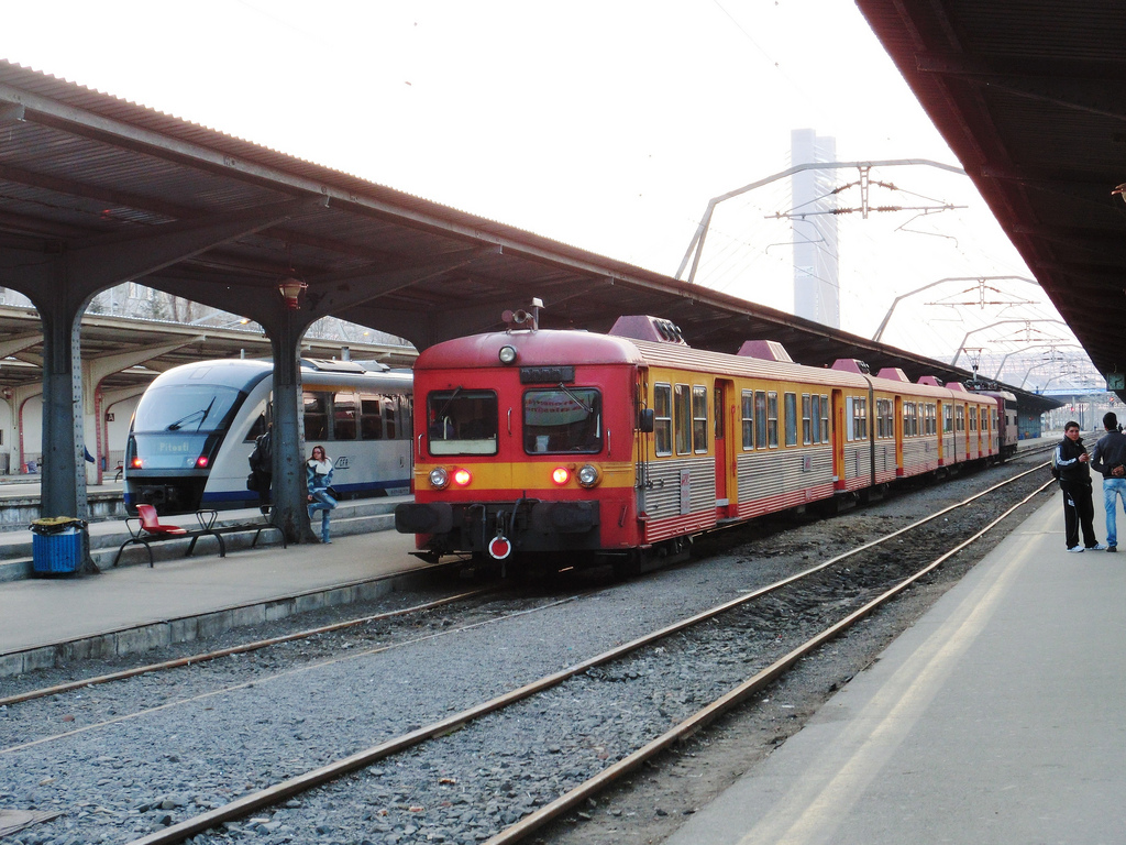 Automotor Regiotrans în București Nord