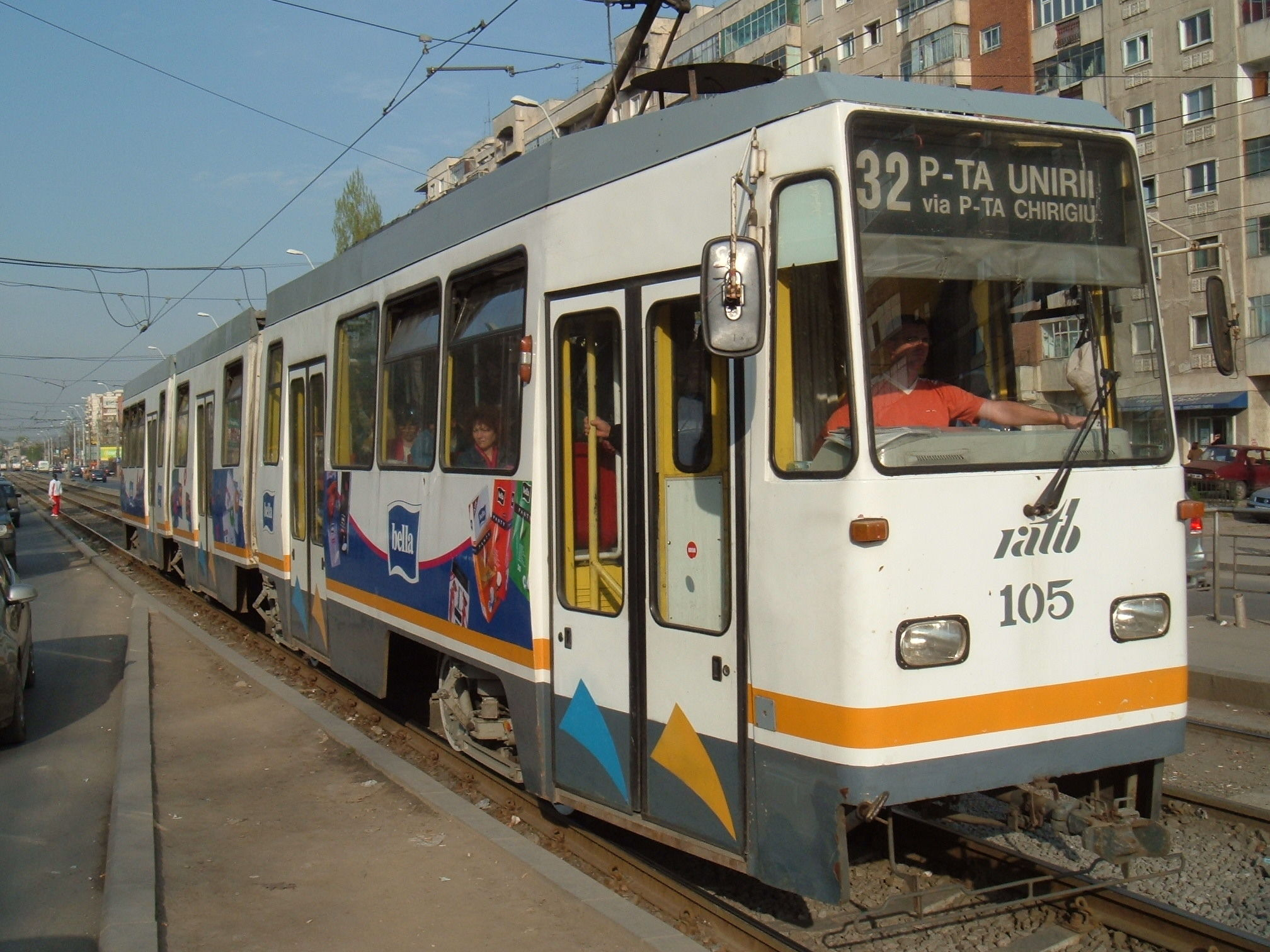 Tramvai V3A modernizat